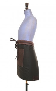 Half Apron Brown 1