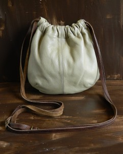 Rohan - leather drawstring bag