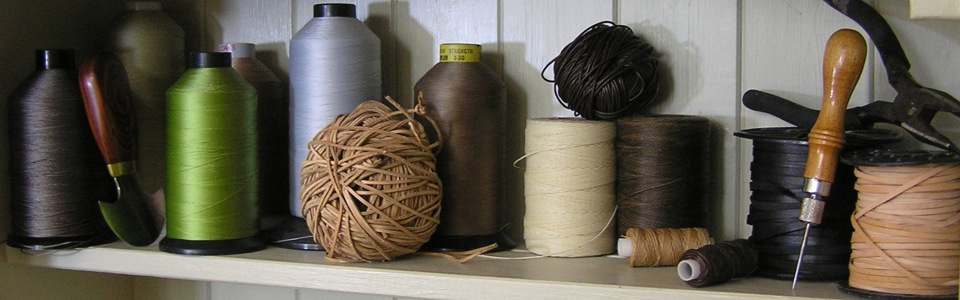 cotton, twine and tools